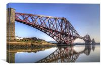 North Queensferry Reflections, Canvas Print