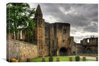 The Ruined Gatehouse, Canvas Print