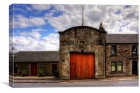 Strathaven Town Mill, Canvas Print