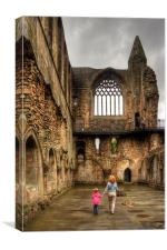 Learning History at a Young Age, Canvas Print