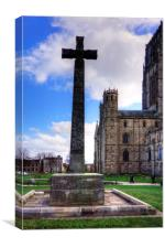 Light Infantry Memorial Cross, Canvas Print