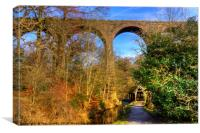 Almondell Viaduct, Canvas Print