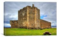 The Castle at Blackness, Canvas Print