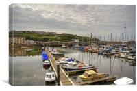 Whitehaven Marina, Canvas Print