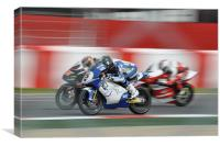 Three Racers, Canvas Print