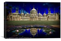 Brighton's Royal Pavilion, Canvas Print