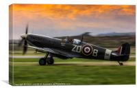 Spitfire MH434, Canvas Print
