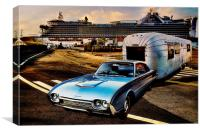 Travelin In Style, Canvas Print