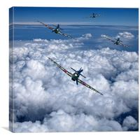 Hurricanes On Your Tail, Canvas Print