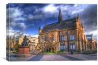 Burns And The McManus Museum Dundee, Canvas Print