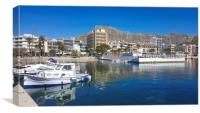Puerto Pollensa Beauty, Canvas Print