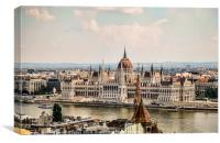 Beautiful Budapest, Canvas Print