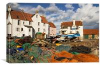 Pittenweem Harbour, Canvas Print