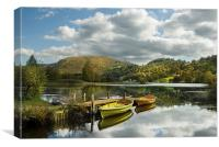 An English summers day, Canvas Print