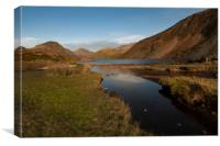 Wastwater lake district cumbria , Canvas Print