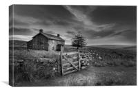 Nuns Cross Farm Dartmoor , Canvas Print