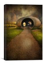 Burnley Panopticon - The Atom, Canvas Print