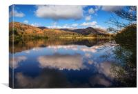 Reflections Of Grasmere, Canvas Print