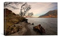 Ullswater Afternoon, Canvas Print