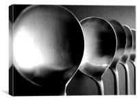 Soup Spoons - Still Life, Canvas Print