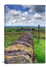 The Great Wall - Trough of Bowland, Canvas Print