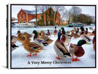 Merry Xmas to Everyone on P4ME, Canvas Print