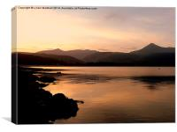 Brodick Bay- Isle of Arran, Canvas Print