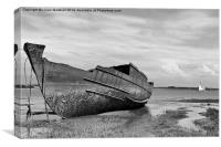 Decommissioned Trawler, Canvas Print
