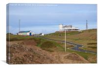 Great Orme Summit Complex and Visitor Centre. , Canvas Print