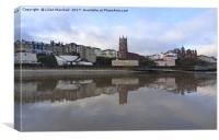 Reflections of Cromer , Canvas Print