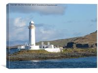 Lismore Lighthouse,, Canvas Print