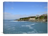 Porthleven Southern Cornwall. , Canvas Print