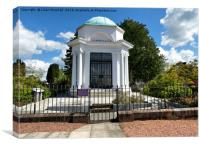 Robert Burns Mausoleum, Canvas Print