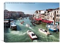 Grand Canal Venice. , Canvas Print
