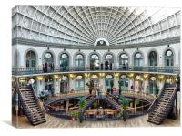 The Corn Exchange Leeds., Canvas Print