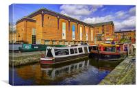 Castlefield Boats, Canvas Print