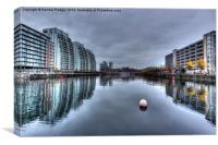 Huron Basin Salford Quays, Canvas Print