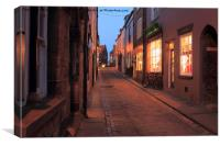 LETS SHOPPING, Canvas Print