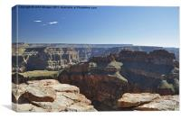 The Grand Canyon., Canvas Print