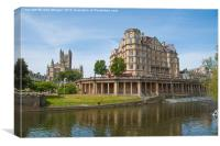 Bath., Canvas Print