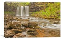 Waterfall Country, Wales., Canvas Print