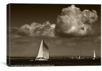 Cowes Yachting Canvases & Prints, Canvas Print