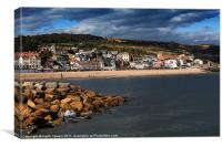 Lyme Regis Canvases & Prints, Canvas Print