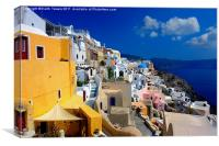 Fira, Santorini, Greece Canvases & Prints, Canvas Print