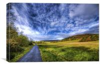 Dare Valley Country Park, Canvas Print