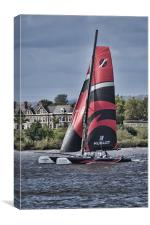 Extreme 40 Team Alinghi, Canvas Print