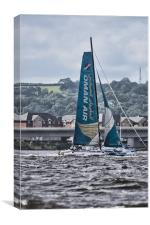Extreme 40 Team Oman Air, Canvas Print