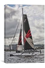 Extreme 40 Team Wales, Canvas Print