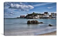 Tenby Harbour 3, Canvas Print