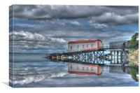 Reflections of Tenby 3, Canvas Print